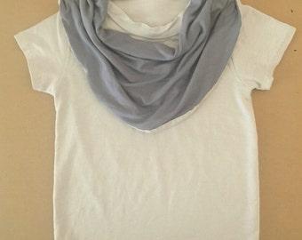 Toddler Bamboo T-shirt Baby T Shirt T-shirt Cream Drape Grey Gray Black Bib - Kinder Chrisst