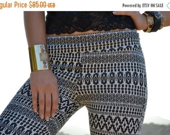 50% OFF JUNO BELLS /// Boho Lux Divine Clothing /// Bohemian Stretch Cotton Blend & Lace Bell Bottom Flare Pants