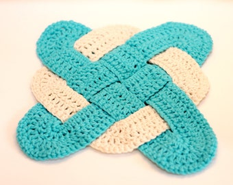 Celtic Knot Trivet Pot Holder