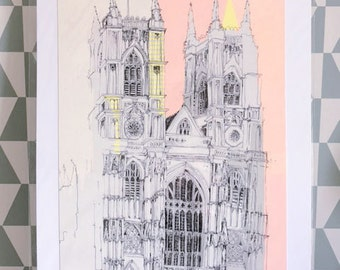Westminster Abbey Giclee Print