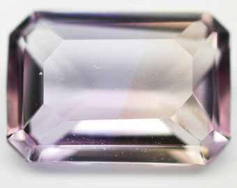 2.70 Ct. Nice Natural Genuine Gem Stone Octagon Bi Color Ametrine - Free shipping