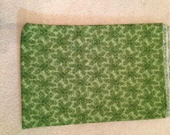 Fabric Destash Green Blender Cotton Quilting Clearance