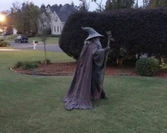 The Grey Pilgrim Cloak, Gandalf the Grey Wizard, LOTR, The Hobbit, Reenactment LARP Cosplay Costume Replica Made to Order