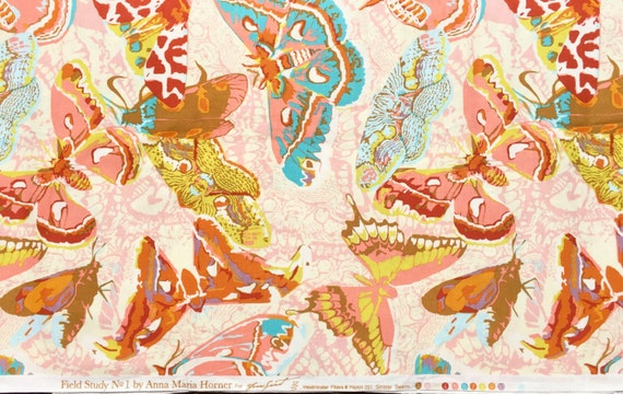 Anna Maria Horner Field Study Sinister Swarm flour fabric FQ or more
