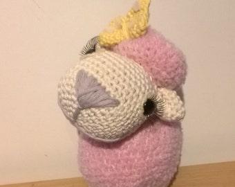 Dolly the sheep amigurumi crochet pattern by Liz Ward