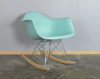 Eames for Herman Miller Molded Plastic Rocking Chair-RAR