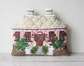 Vintage Cottage House Decorative Pillow ADORABLE