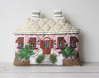 Vintage Cottage House Decorative Pillow ADORABLE