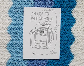 An Ode To Photocopying Illustrated Art Zine
