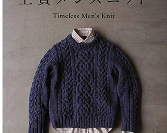 Men's Knit ( Let's knit series)   Book Craft Pattern Book Japanese