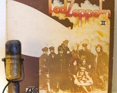 "Led Zeppelin Vinyl Record Album 1960s Hard Rock LP Jimmy Page Robert Plant ""2"" (1977 Atlantic Records Re-issue w'/""Whole Lotta Love"")"