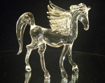 Glass pegasus