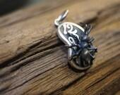 Dali's ant on melting watch