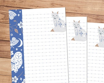 Midnight Meeting - A5 Stationery - 12, 24 or 48 sheets