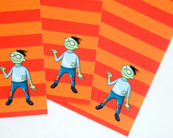 Zombie Penpals - A5 Stationery - 12, 24 or 48 sheets