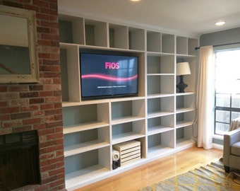 Handcrafted Wall Unit