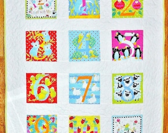123 Count With Me Quilt