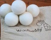 Unscented Felted Fabric Softener Wool Dryer Balls,Natural Fabric Softener, wool dryer balls, eco-friendly , best laundry product,