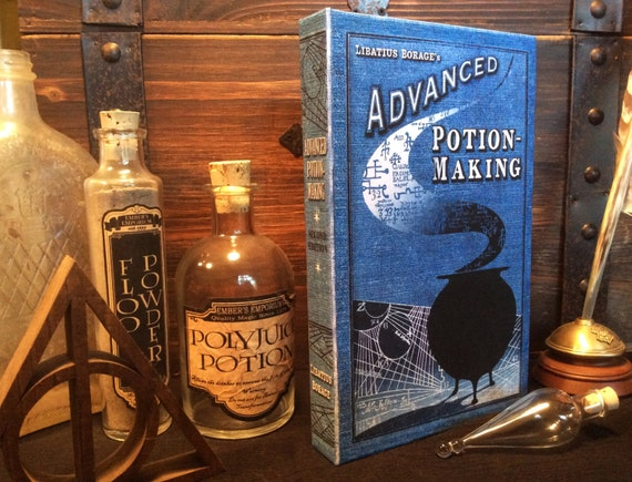 Advanced Potion Making Book - Blank