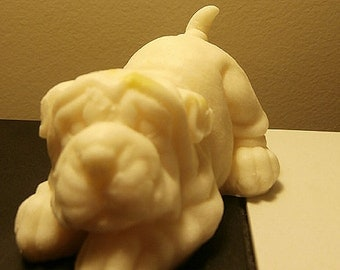 Shar Pei Puppy Neroli and Shea Blossom Vegan Glycerine Soap