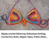 Crochet top and bottom