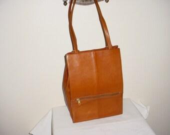 SALE Hobo International Brown Leather Bag Purse Backpack