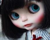 OOAK Blythe Custom Doll-KiKi Again+Outfit