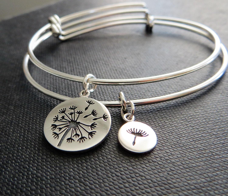 mother of the bride t mother daughter bangle bracelet