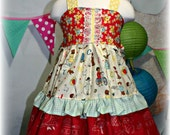 Gooseberry Lane Originals Back To School Dresss Size 4/6 Ready to SHIP