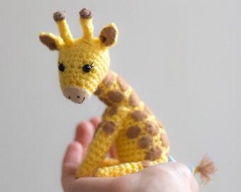 Cute Crochet Giraffe