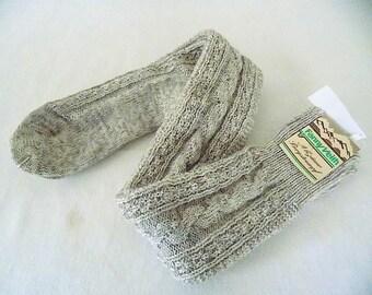Bavarian Wool Trachten Knee Octoberfest Socks for Men Size  11 1/2 with Tags