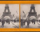Stereo View, L'Exposition de Paris 1900 2, Produced by Felix Potin.