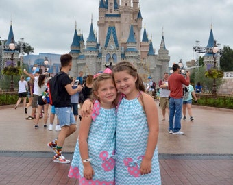 Minnie Mouse Dress 15% off coupon is til2016  aqua dress worn by Kailey&Sydney pillowcase dress  3, 6,9,12,18 month 2t,3t,4t,5t,6,7,8,10,12