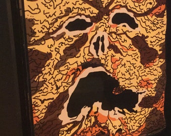 Necronomicon Evil Dead Book of the Dead 3D Pop Art Horror Movie