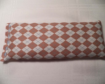 Eye Pillow - Harlequin Diamond Pattern