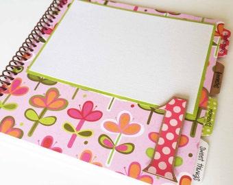 Baby Memory Book * Birthday Photo Book * Girl Baby Book * Baby Album * Birthday Party Book * First Birthday Gift * Baby Journal * LILY