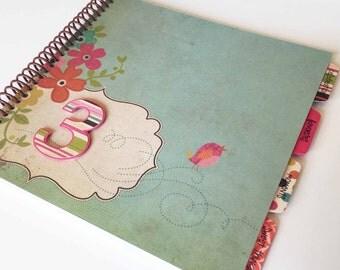 Baby Memory Book * Birthday Photo Book * Girl Baby Book * Baby Album * Shower Gift * Baby Book * First Birthday Gift * Baby Journal * EMMY