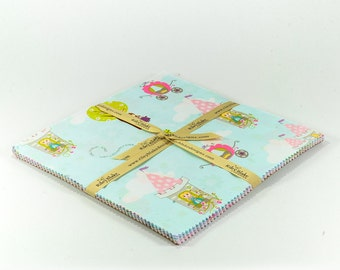 """Dream & A Wish 10"""" Squares Stacker by Sandra Workman Designs for Riley Blake, 18 pieces"""