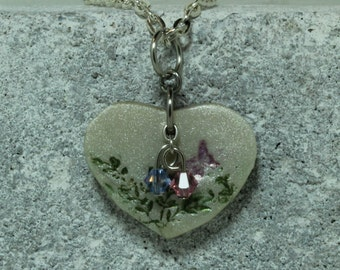 Pregnancy Loss or  Infant Loss Jewelry Mommy of Angels or Mommy of an Angel Necklace