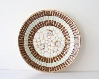 Vintage Mid Century Modern Mosaic Bowl