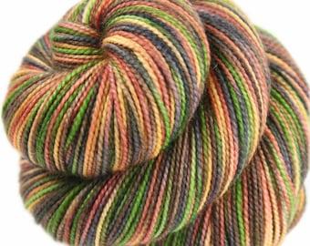 PICCOLO: Superwash Merino Wool-Nylon - Fingering / Sock Weight Yarn - Hand-dyed sock yarn - Indie dyed sock yarn - Variegated sock yarn