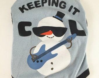 CLEARANCE - XXSmall Keeping it Cool Snowman TANK