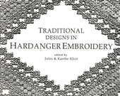Embroidery Designs Book Traditional Designs in Hardanger Embroidery 1992 Softcover Embroidery Patterns Embroidery Stitches