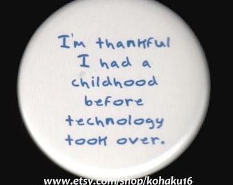 Childhood Nostalgia Button