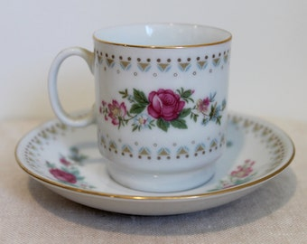 Flower Demi Cup and Saucer