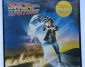"Sealed ""Back to the Future"" Vinyl Soundtrack (1985)"