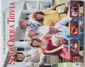 SOAP OPERA TRIVIA 1985 Hardcover Consumers Guide Daytime and Primetime Soaps
