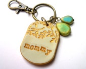 Cool Christmas Gift for mom, Mommy Keychain, mommy Gift, Christmas gift for mama, personalized keyring, mom jewelry, kids initials jewelry