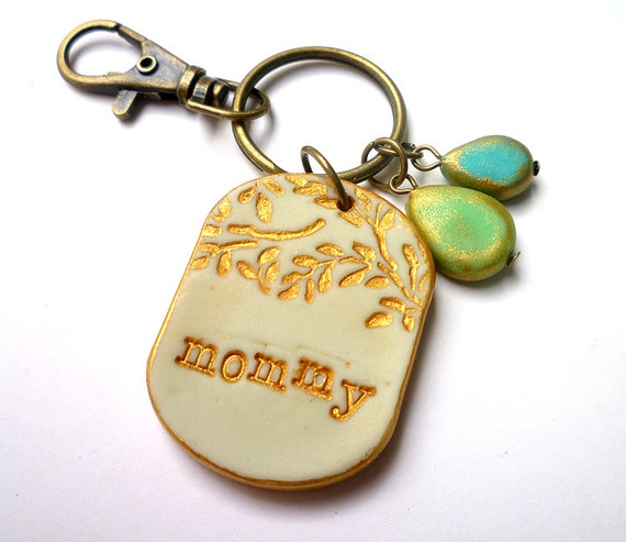 Cool Christmas Gift For Mom Mommy Keychain Mommy Gift