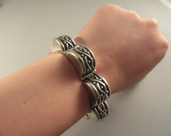 Vintage Sterling Taxco Mexican Bracelet